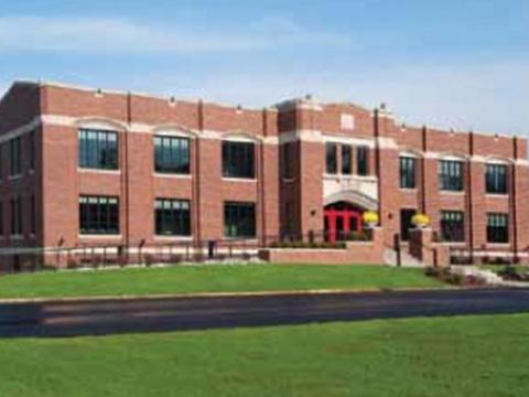 Marshall Street Armory School Exterior