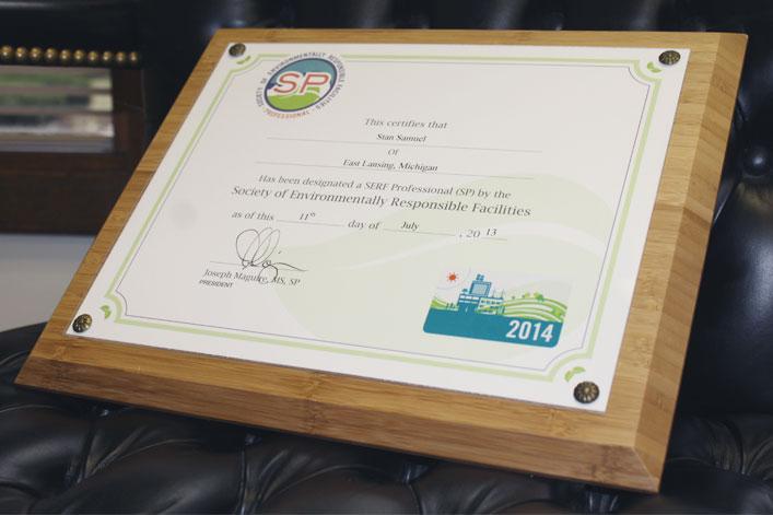 SERF Professional Certificate