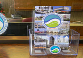 SERF Promo Cards and Acrylic Holder