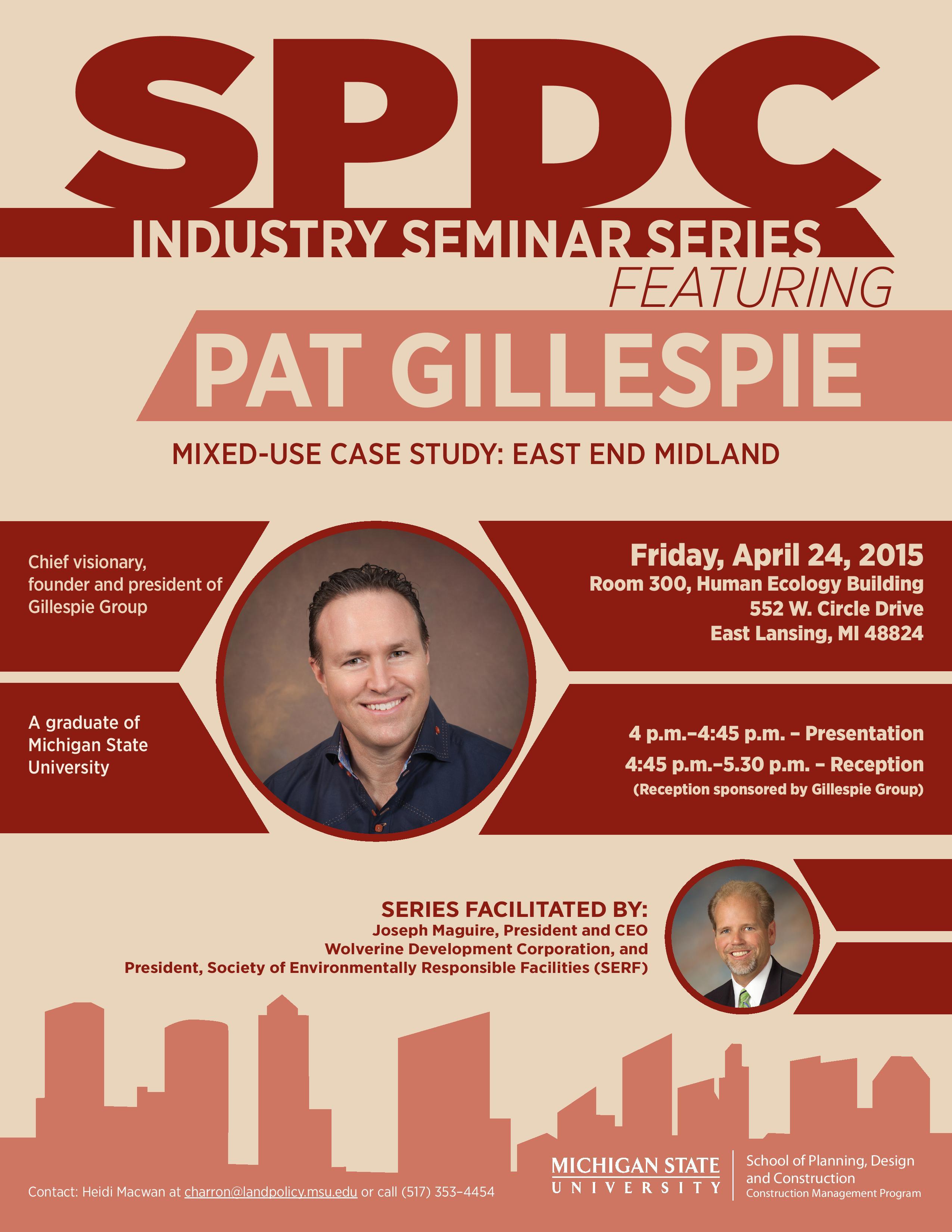 Patgillespie_SPDCINdustrySeminarSeries_Flyer_031615-page-001